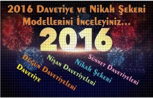 2016 davetiye modelleri