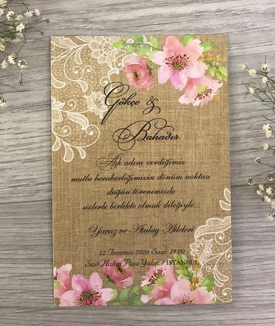 Anka Cards Davetiye A109